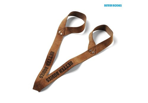 Better Bodies Better Bodies 1,5 inc leather strap
