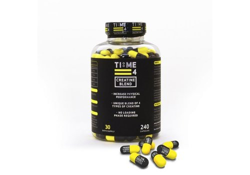 Time4nutrition Time4nutrition creatine blend 240 caps