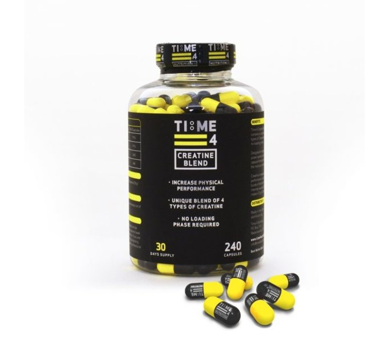 Time4nutrition creatine blend 240 caps