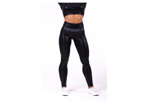 Nebbia Nebbia 656 sportlegging dames zwart shine