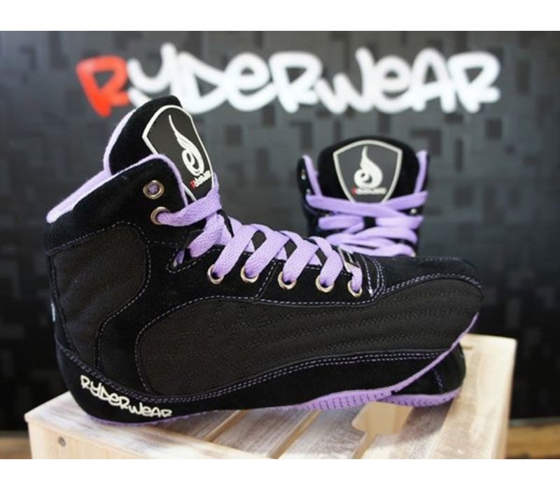 Ryderwear raptors ladies signature edition black/purple