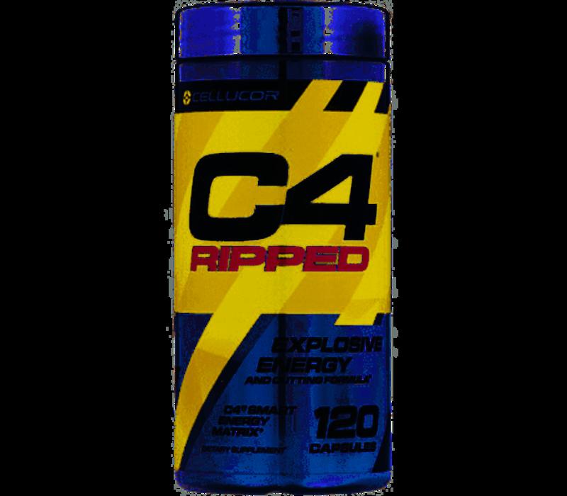 C4 cellucor ripped explosive energy 120 caps