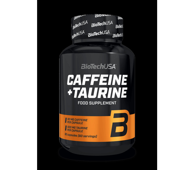 BioTech USA caffeine/taurine 60 servings