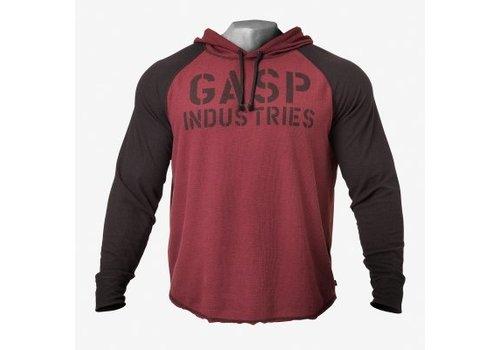 Gasp L/S thermal hoodie, (verkrijgbaar in 4 kleuren)