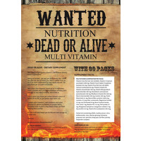 Wanted Nutritiion dead or alive multi-vitamine