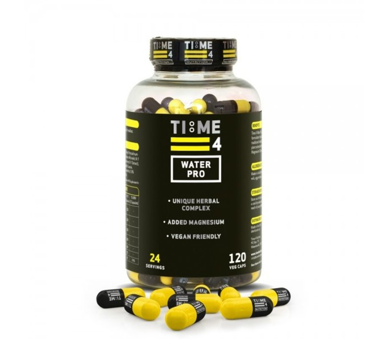 Time4nutrition water pro 120 veg caps