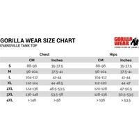 Gorilla Wear Evansville tank top (verkrijgbaar in 3 kleuren)