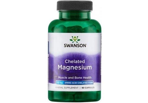 Swanson Swanson chelated magnesium 90 caps
