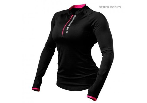 Better Bodies Better Bodies zipped L/S (dames)