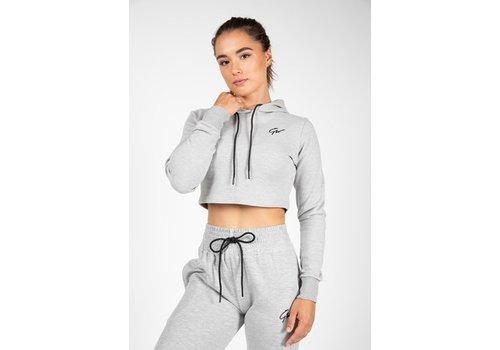 Gorilla Wear Gorilla Wear Pixley crop top hoodie (verkrijgbaar in 3 kleuren)