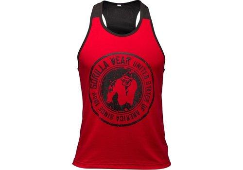 Gorilla Wear Gorilla Wear Roswell tank top red/black