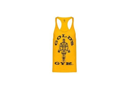 Gold's Gym Gold;s Gym stringer Joe premium - gold