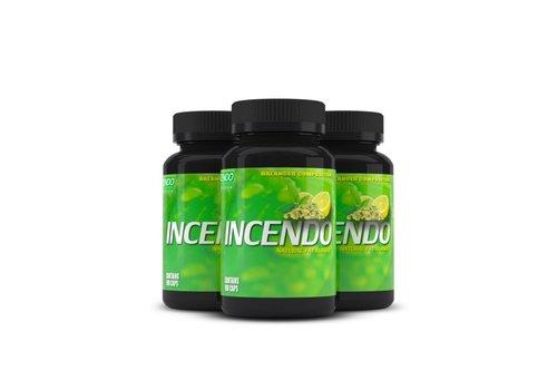 Incendo Nutrition 3x Incendo natuurlijk vetverbrander en pre-workout
