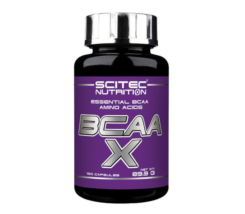 Scitec Nutrition BCAA  X  essential bcaa amino acids  20 caps
