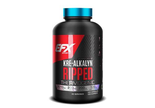 EFX EFX sports kre-alkalyn ripped 30 servings