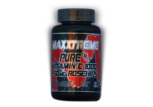 Maxxtreme Maxxtreme pure vitamin C-1000 + 50mg rosehips