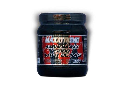 Maxxtreme Maxxtreme aminomaxx 5000 + BCAA van 24,90 voor 12,50 i.v.m. breuk