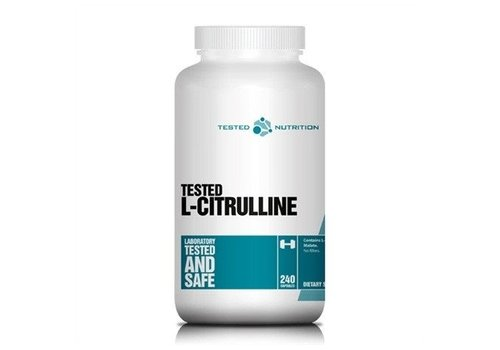 Tested Nutrition Tested Nutrition l-citrulline 240 caps