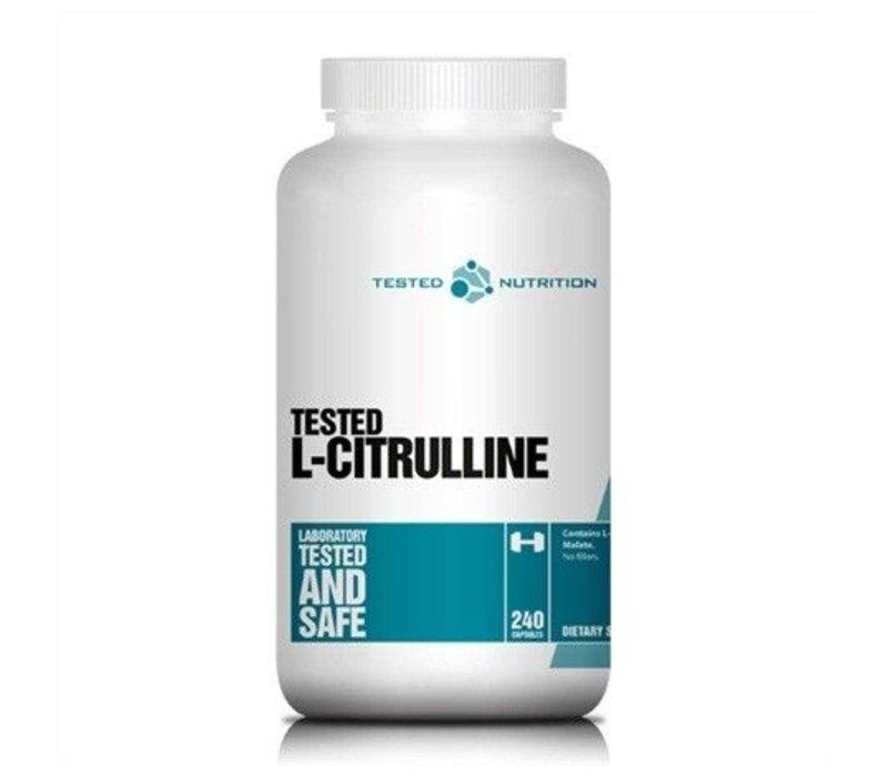 Tested Nutrition l-citrulline 240 caps