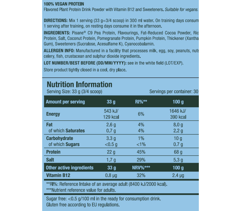 Scitec Nutrition  100% plant vegan 1kg