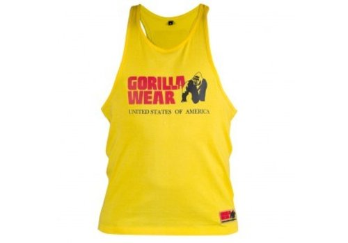 Gorilla Wear Gorilla Wear classic tank top yellow