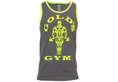 Gold's Gym Gold's Gym muscle Joe contrast athlete tank