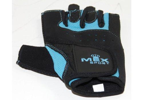 Mex Sport Mex Sport training gloves mesh blue