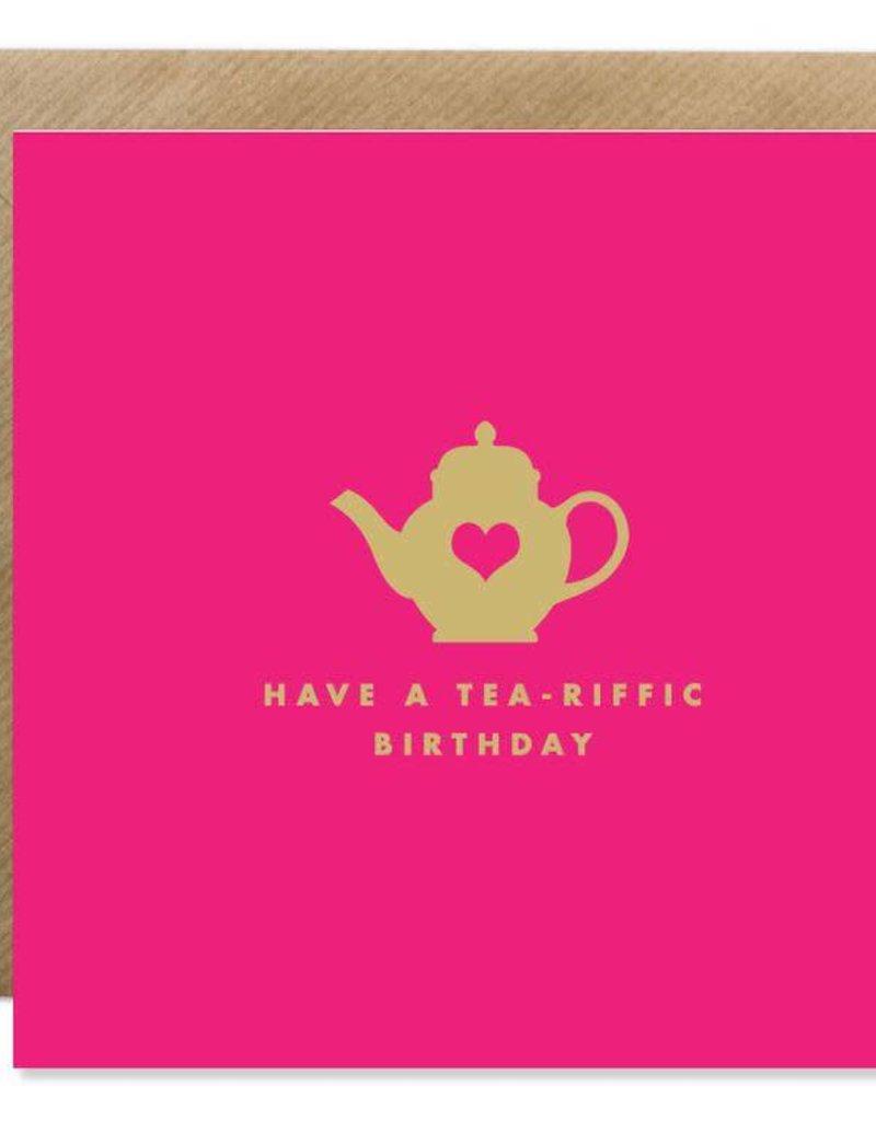 Bold Bunny Bold Bunny Card Tea-riffic Birthday