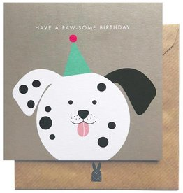 Bold Bunny Bold Bunny Card Have a Paw-some Birthday