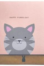 Bold Bunny Bold Bunny Card Happy Purrr-Day