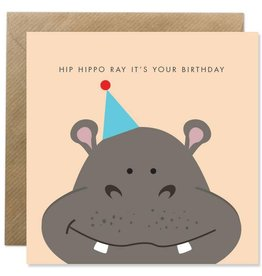 Bold Bunny Bold Bunny Card Hip Hippo Ray It's Your Birthday