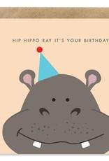 Bold Bunny Bold Bunny Card Hip Hippo Ray It's Your Birthday