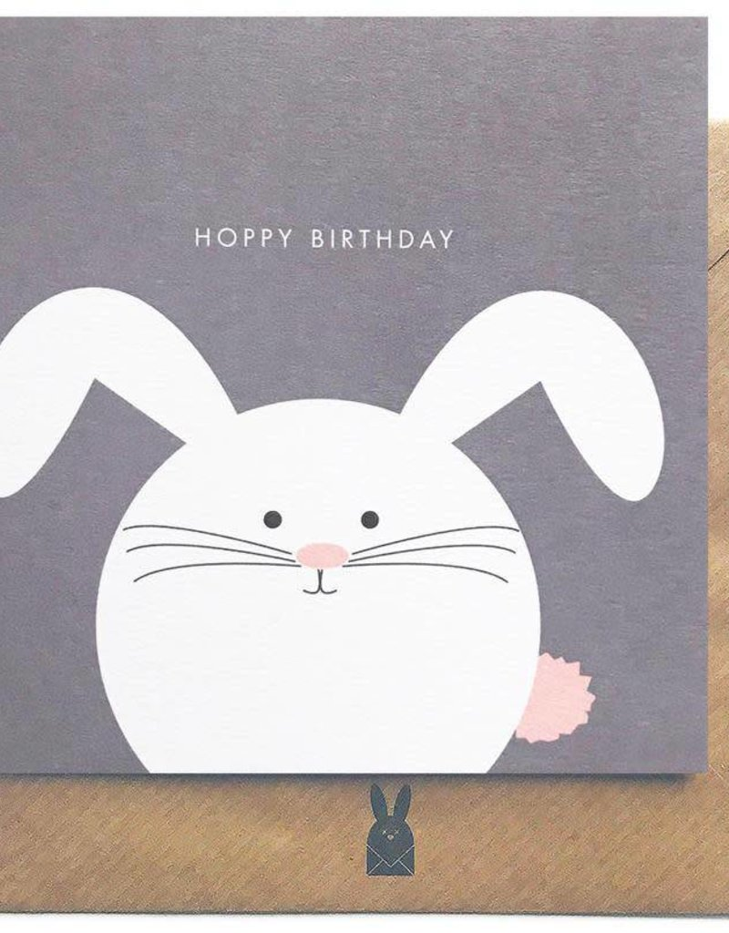 Bold Bunny Bold Bunny Card Rabbit Hoppy Birthday