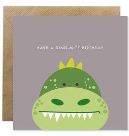 Bold Bunny Bold Bunny Card Dino-mite Birthday