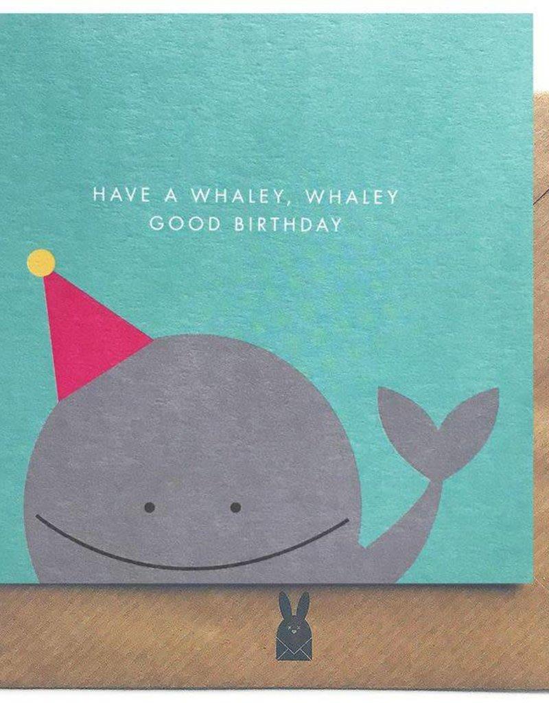 Bold Bunny Bold Bunny Card Whaley Good Birthday