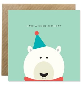 Bold Bunny Bold Bunny Card Polar Bear Birthday