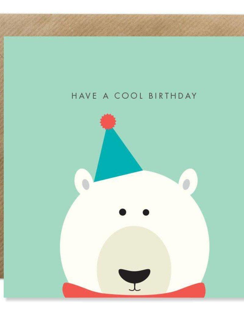 Bold Bunny Bold Bunny Card Polar Bear Birthday