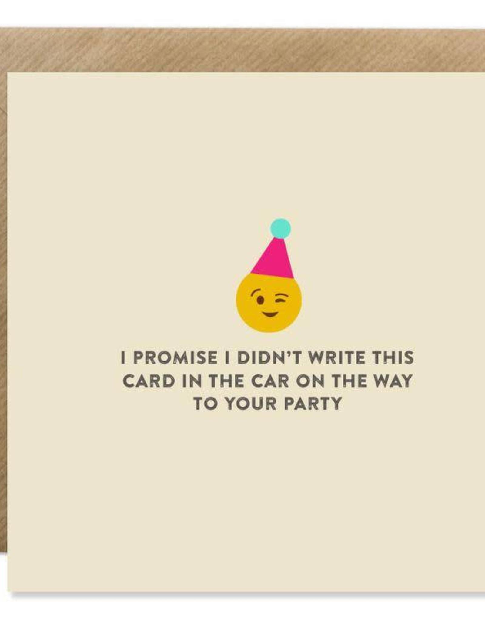 Bold Bunny Bold Bunny Card Emoji Birthday