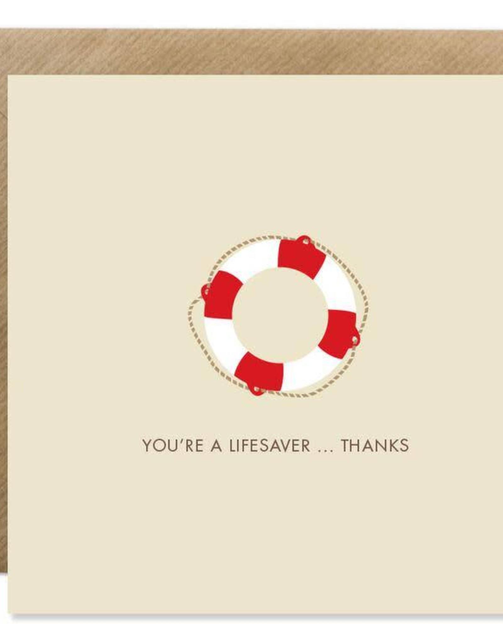 Bold Bunny Bold Bunny Card You're A Lifesaver