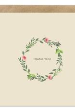 Bold Bunny Bold Bunny Card Thank You Flowers