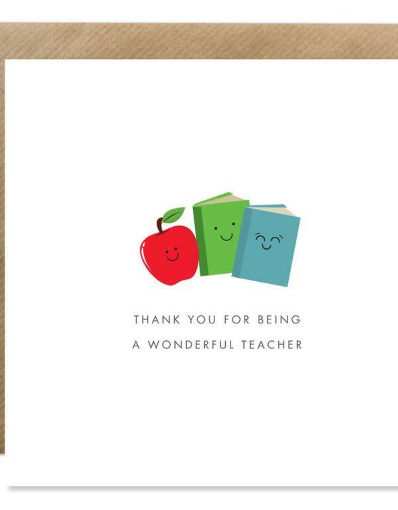 Bold Bunny Bold Bunny Card Most Wonderful Teacher
