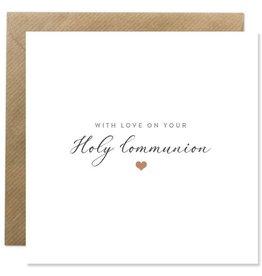 Bold Bunny Bold Bunny Card Holy Communion