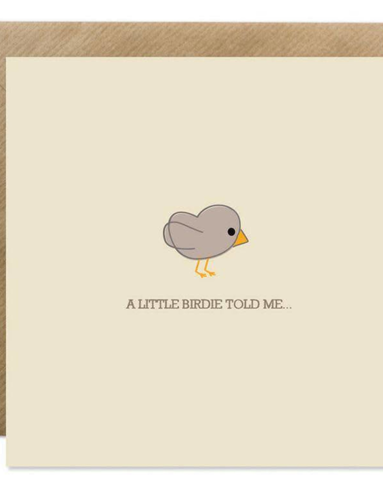 Bold Bunny Bold Bunny Card Little Birdie
