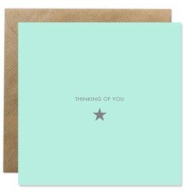 Bold Bunny Bold Bunny Card Thinking of You - Star