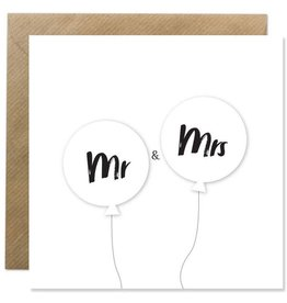 Bold Bunny Bold Bunny Card Mr & Mrs