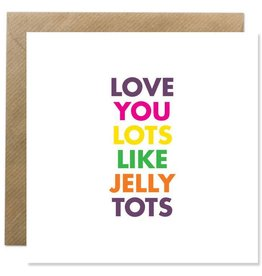 Bold Bunny Bold Bunny Card Love You Lots...