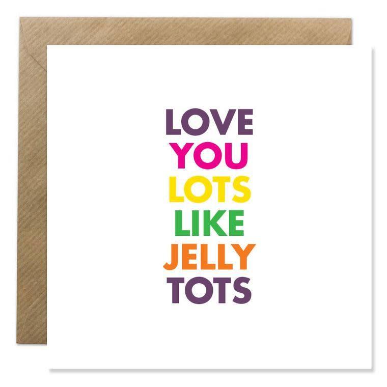 Bold Bunny Bold Bunny Card Love You Lots...
