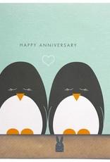 Bold Bunny Bold Bunny Card Penguin Anniversary