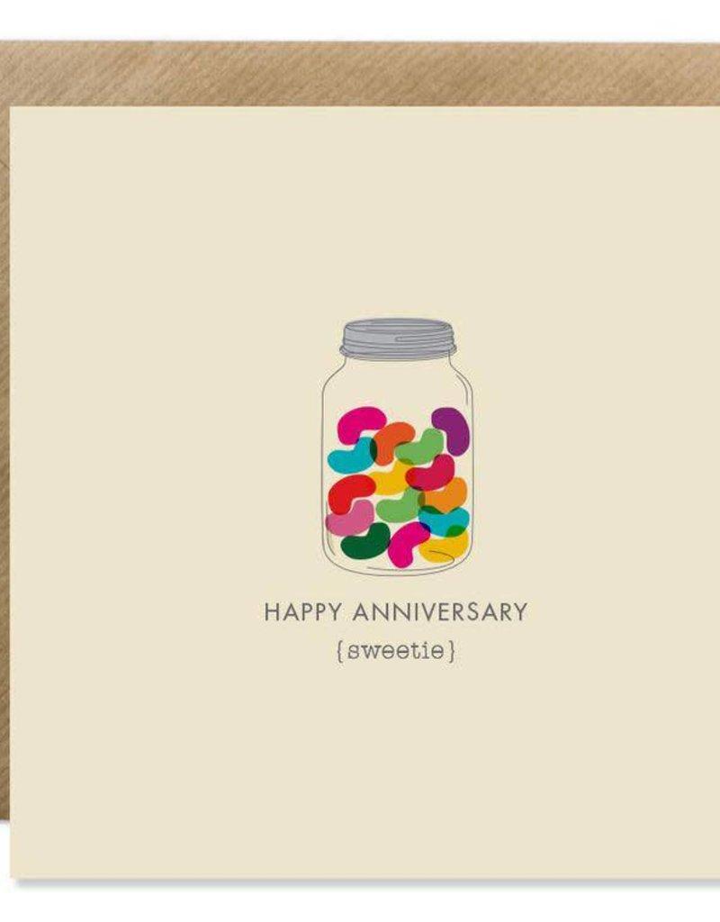 Bold Bunny Bold Bunny Card Happy Anniversary Sweetie