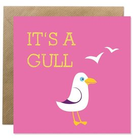 Bold Bunny Bold Bunny Card It's a Gull